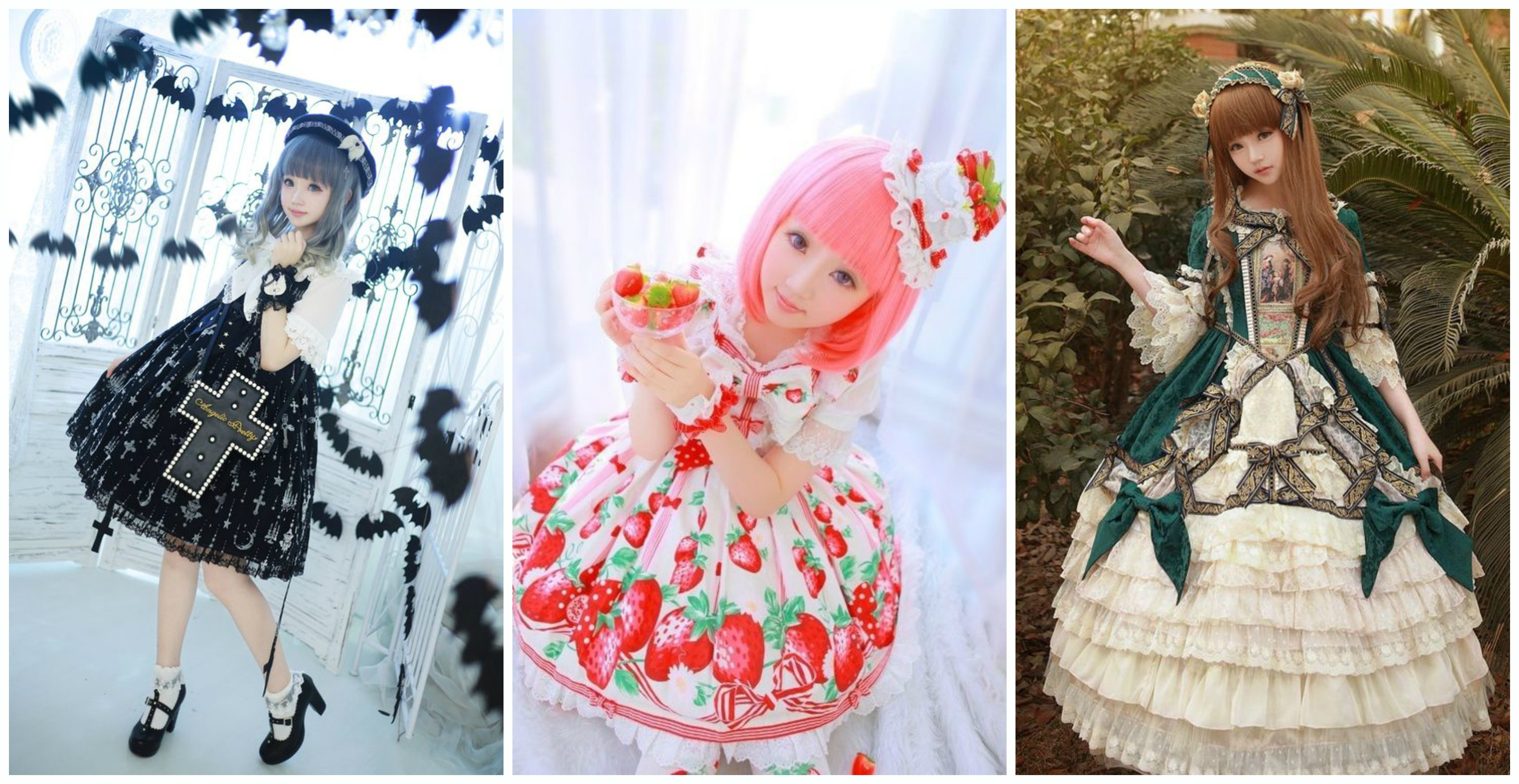 c509e99004f1 Negli anni Novanta la moda lolita ha iniziato a diventare più conosciuta  grazie a band musicali molto popolari in quegli anni